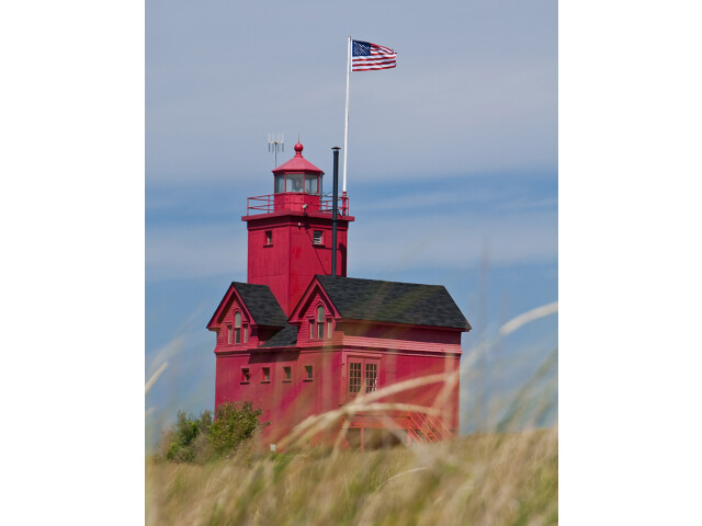 Holland Harbor Light 'Big Red' - Holland  Michigan image