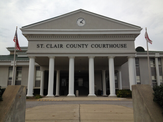 St. Clair County Courthouse in Pell City  Alabama image