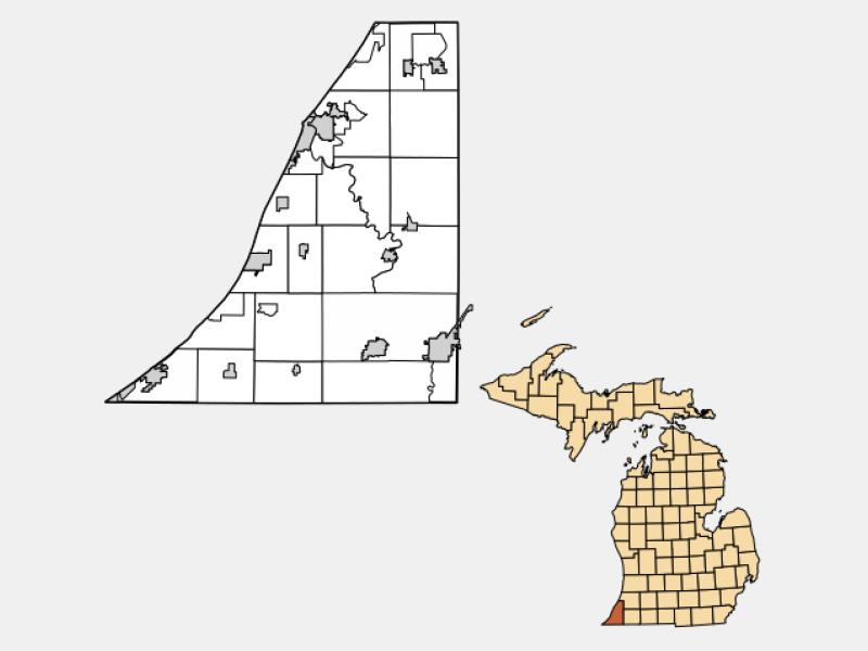 Saint Joseph locator map