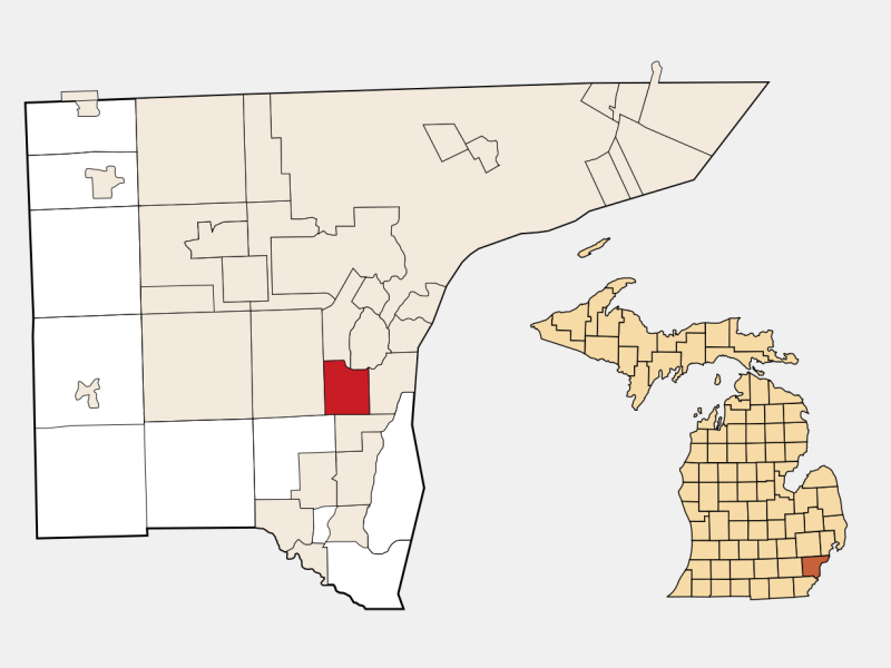 Southgate locator map