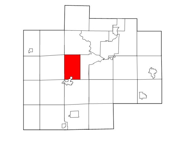 Swan Creek locator map