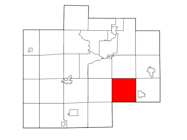 Taymouth locator map