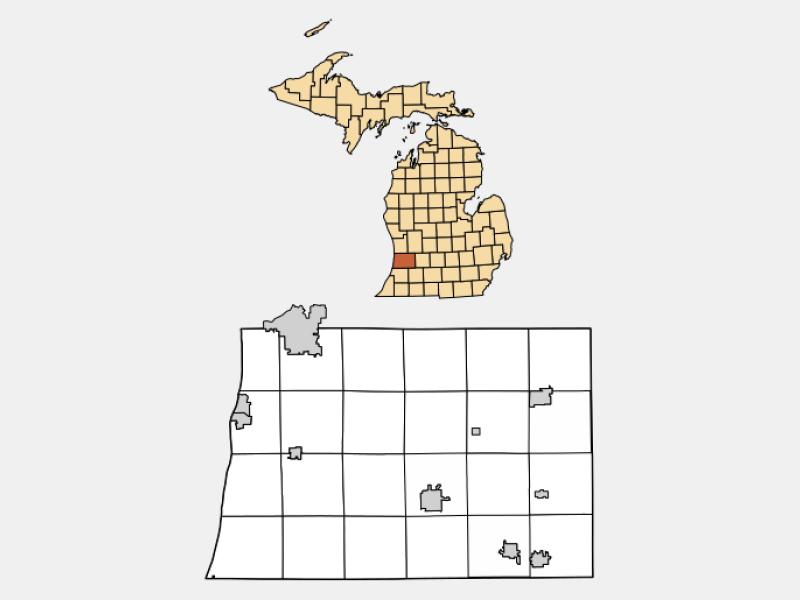 Wayland locator map