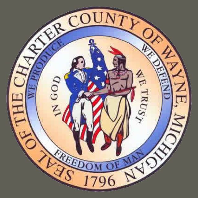 Seal of Wayne County  Michigan seal image