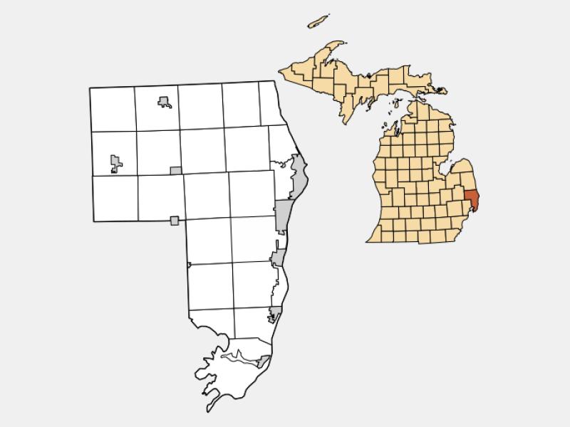Yale locator map