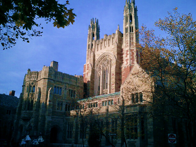 Yale Law School in the Sterling Law Building image