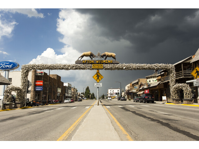 Afton Wyoming Elkhorn Arch July 31 2013 image