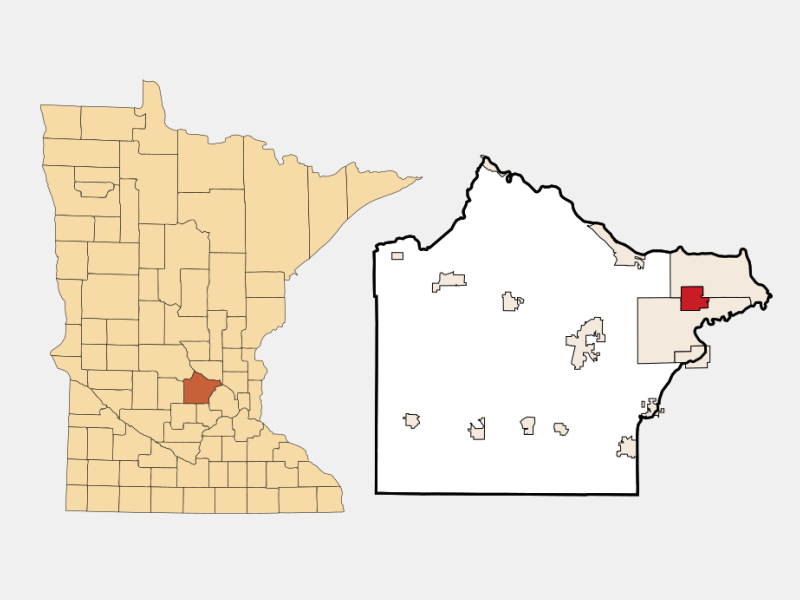 Albertville locator map