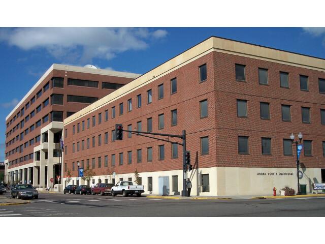 Anoka County Courthouse Anoka Minnesota image