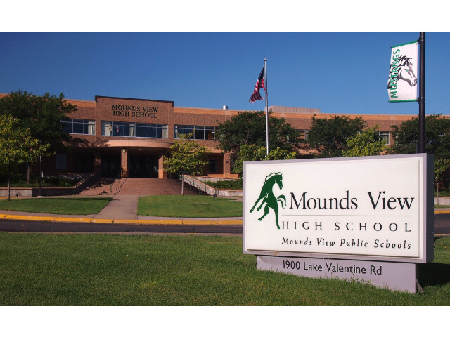 Mounds View High School 01 image