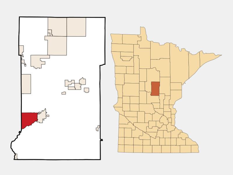 Baxter location map