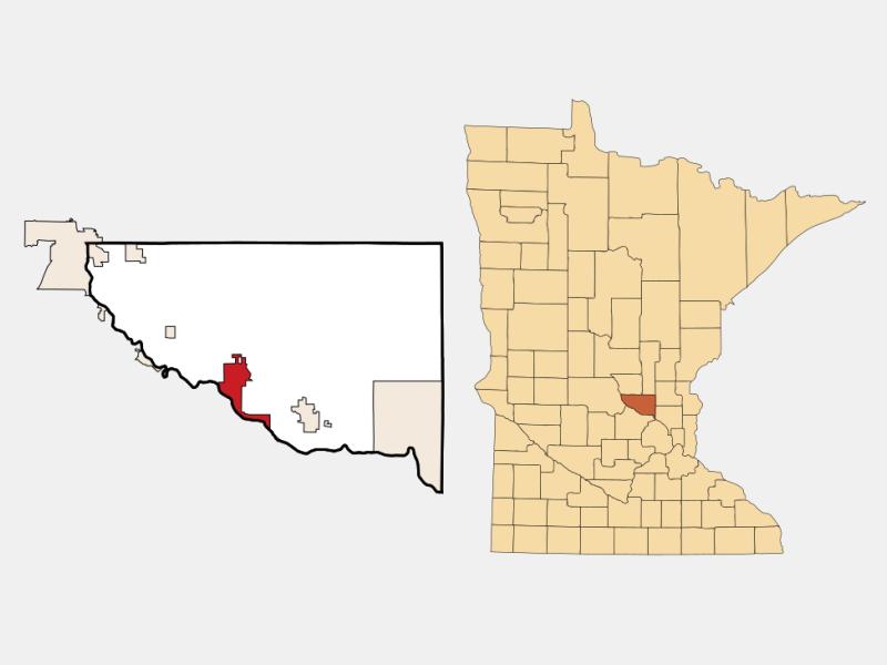 Becker locator map