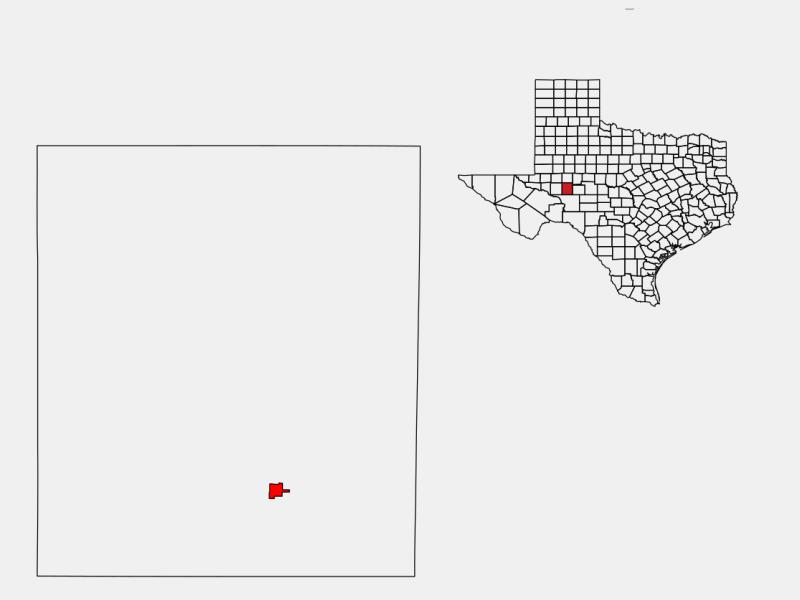 Big Lake locator map