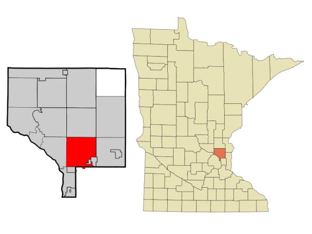 Blaine locator map
