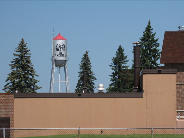 Buhl-water-tower image