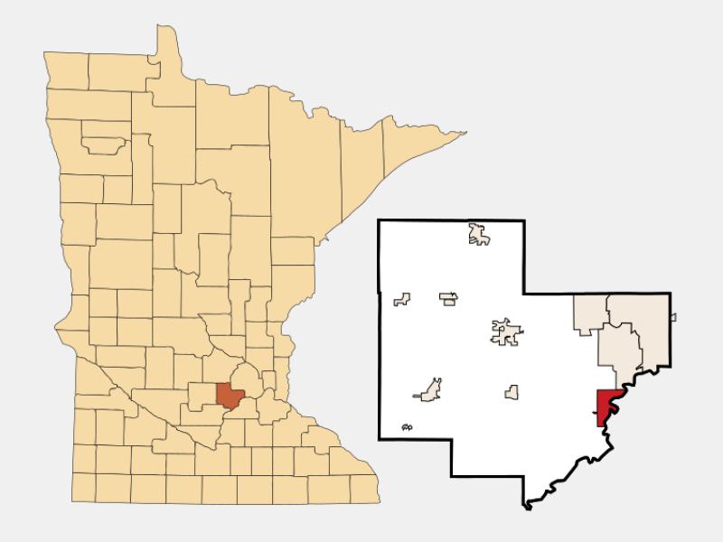 Carver locator map
