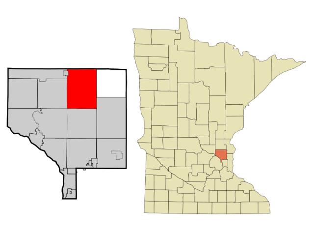 East Bethel location map