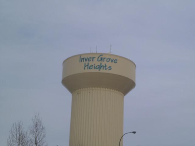 InvergroverheightsMNwatertower image