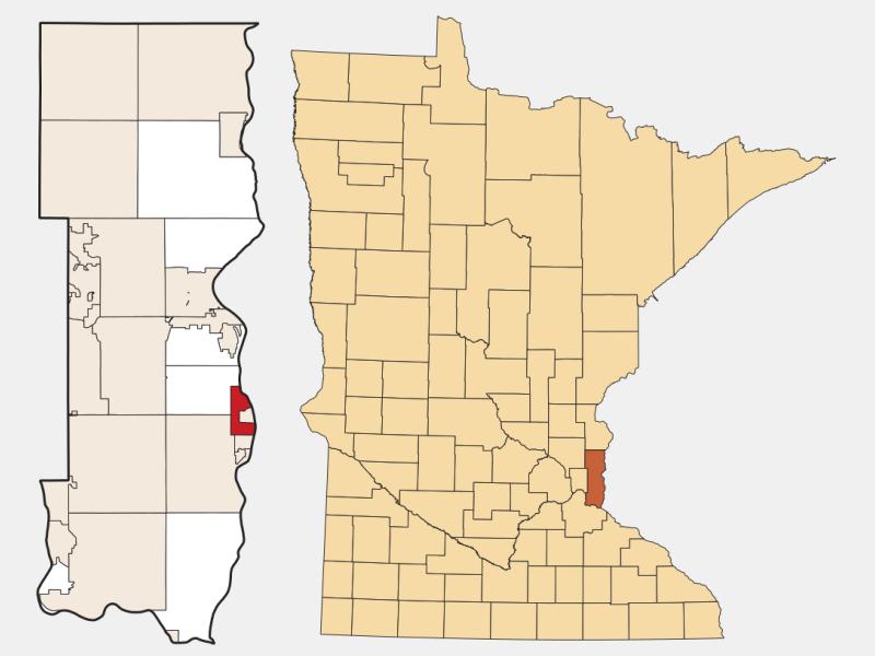 Lakeland locator map