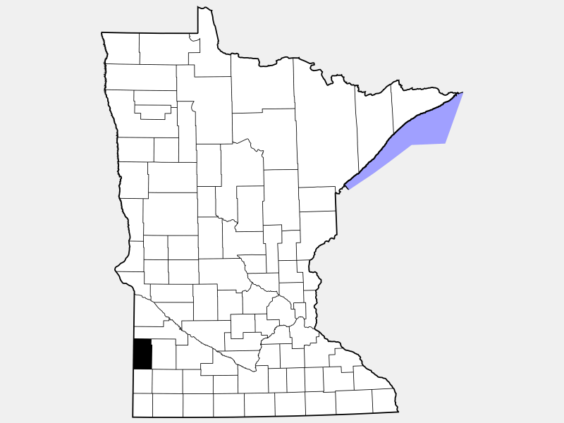 Lincoln County location map