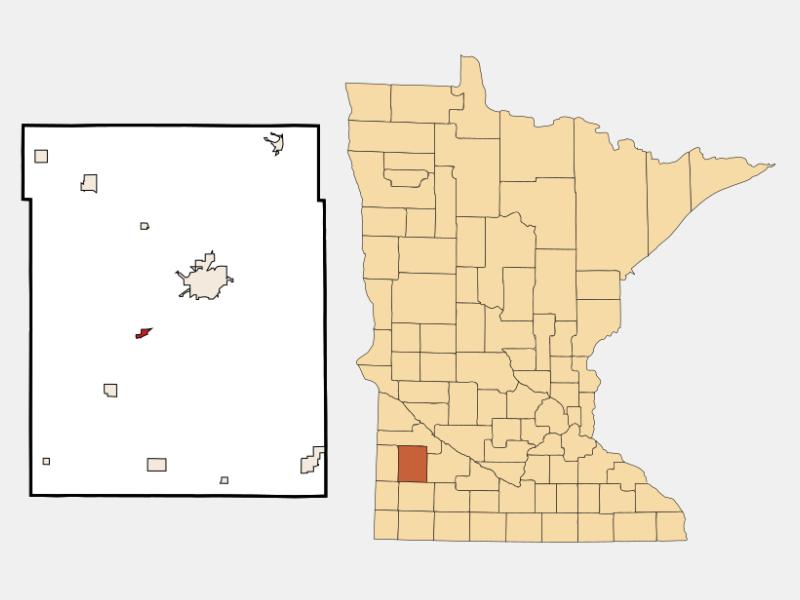 Lynd locator map