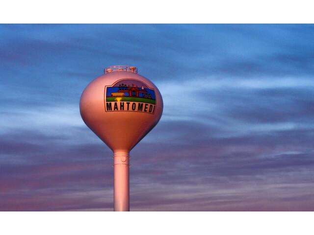 Mahtomedi Water Tower Sunset Minnesota 2201388568 o image