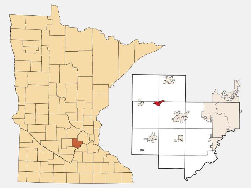 Mayer locator map
