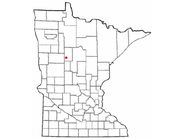 Park Rapids locator map