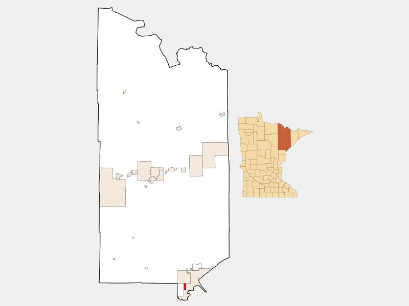 Proctor locator map