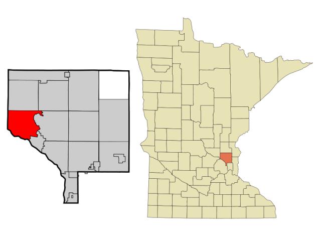 Ramsey locator map