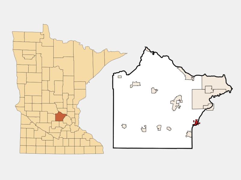 Rockford locator map