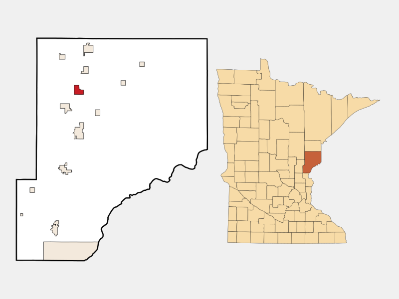 Rutledge locator map