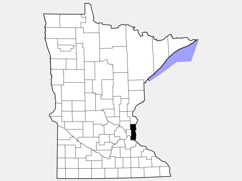 Washington County location map