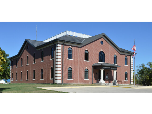 Clark County MO courthouse 20151003-014 image