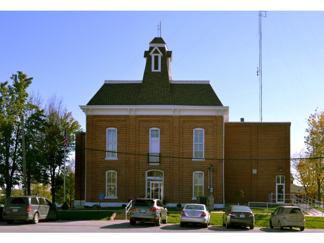 Lewis County MO Courthouse 20141022 A image