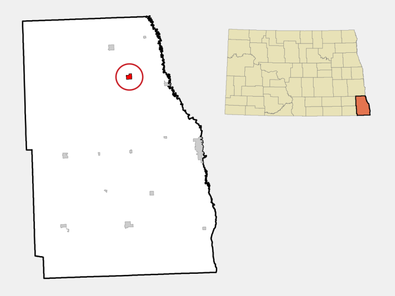 Colfax location map