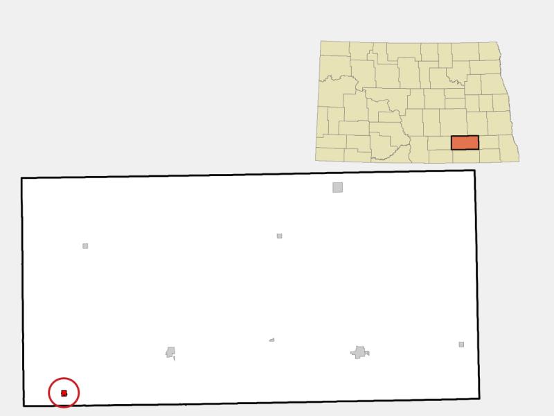 Kulm locator map