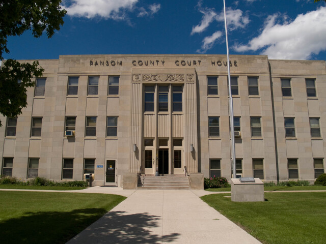 Ransom County Courthouse 2008 image