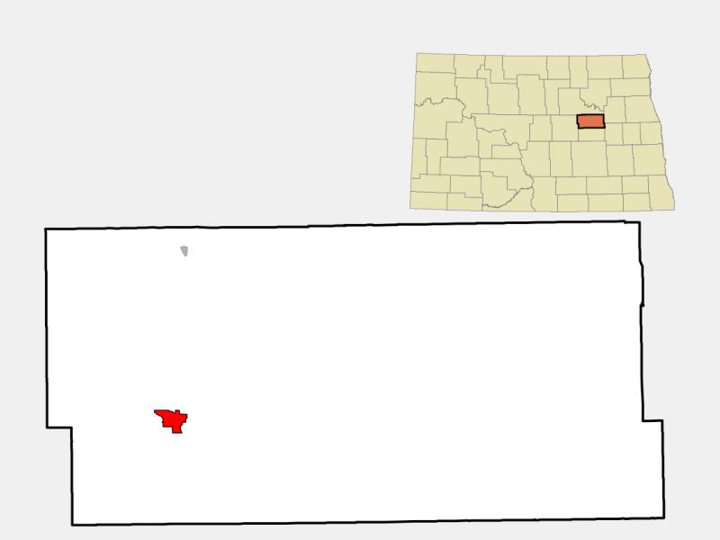 New Rockford location map