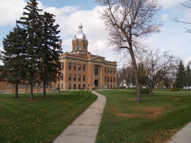Traill County Courthouse image
