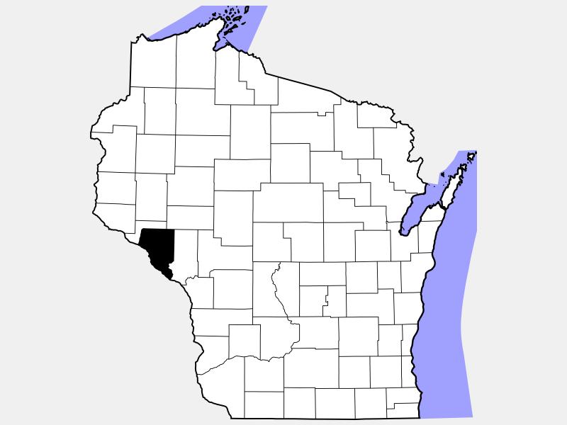 Buffalo County locator map