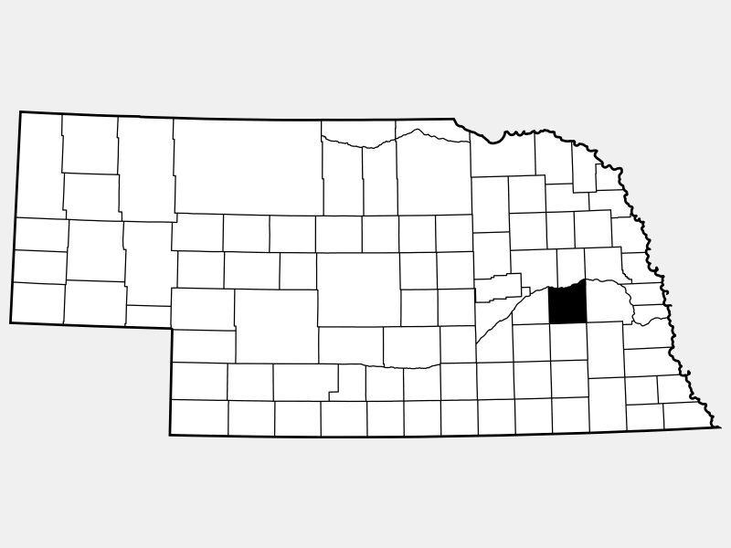 Butler County location map