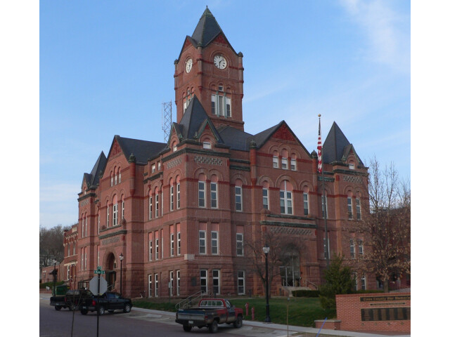 Cass County  Nebraska courthouse from SW 1 image