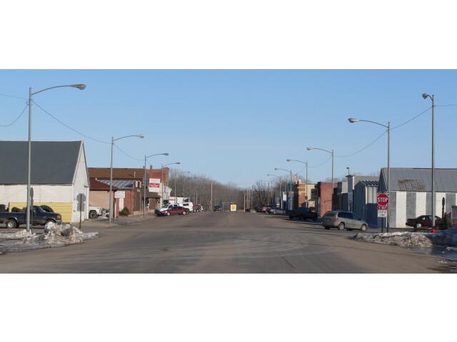 Cedar Rapids  Nebraska Main St E of 4th St image