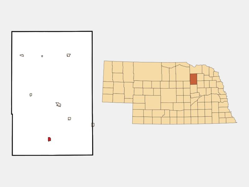Elgin location map