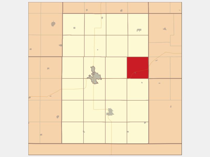 Filley locator map
