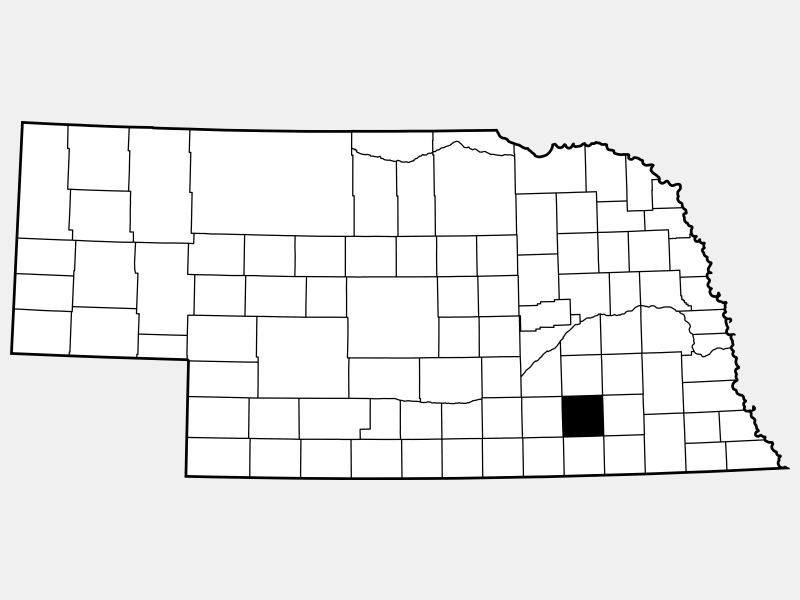 Fillmore County locator map