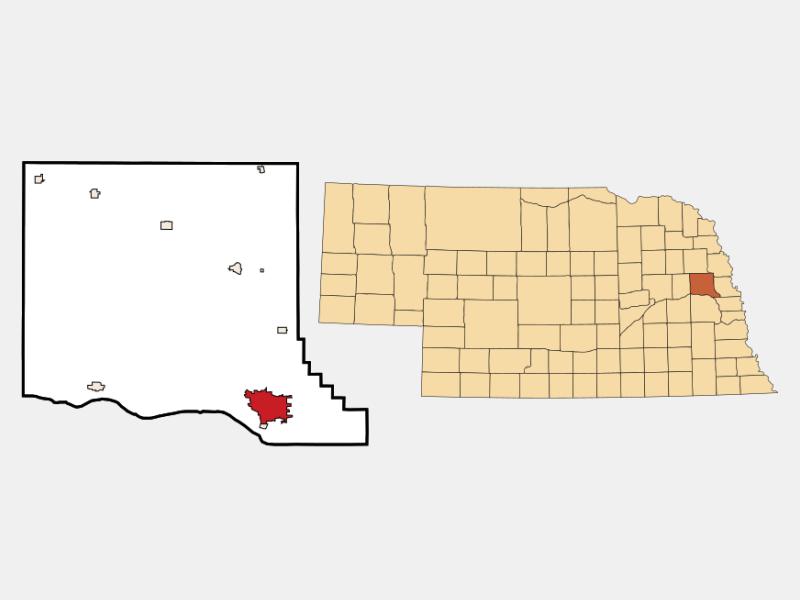 Fremont locator map