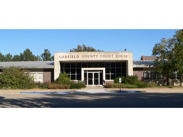Garfield County Courthouse 'Nebraska' from W image