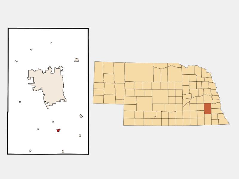 Hickman locator map